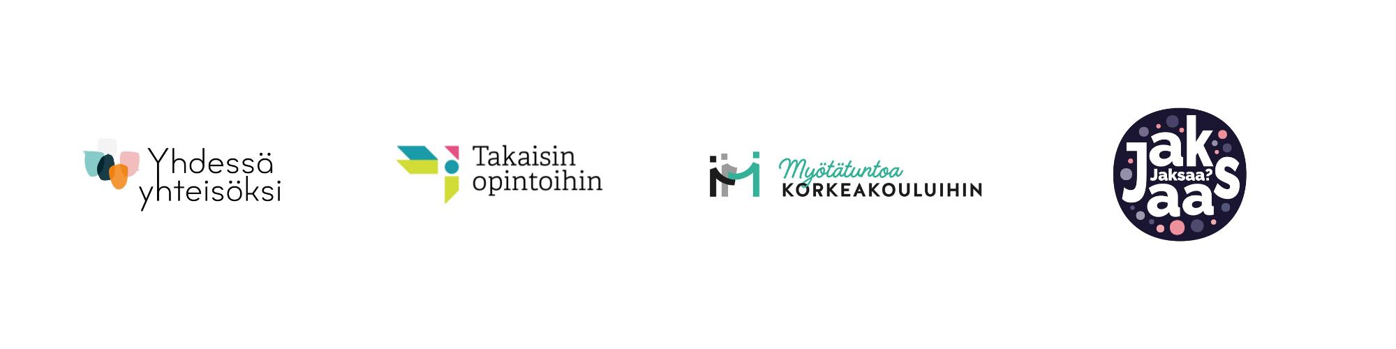 Hankkeiden logot
